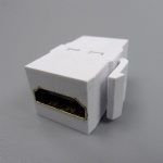 Inline 180 degree HDMI Keystone Jack